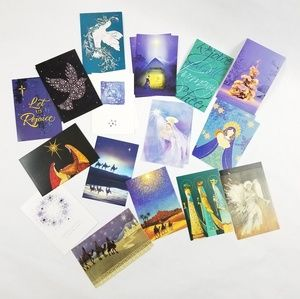 Boundle of 24 USA Products XMass Holidays Cards